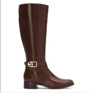 Michael Kors Shoes - Michael Kors Bryce Riding Boot-Chocolate Brown